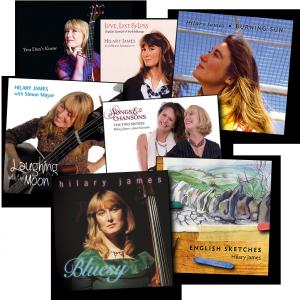 Hilary James albums